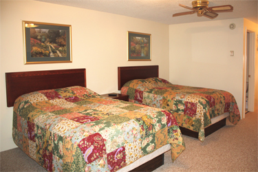 Curtis MI Lodging - Our five unit motel, with two queen sized beds, comes with a refrigerator, microwave, cable television and wireless internet.